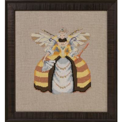 Miss Queen Bee Cross Stitch Pattern