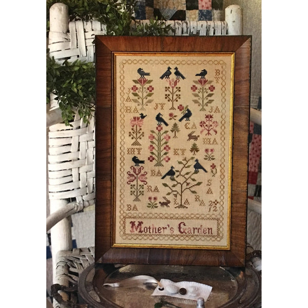 Mother's Garden Cross Stitch Pattern