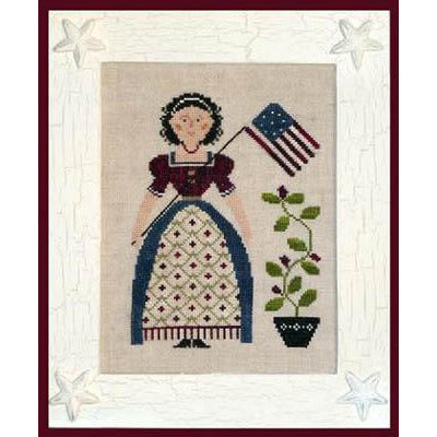 My Lady - Liberty Cross Stitch Pattern