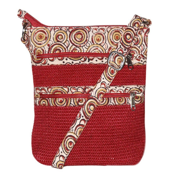 Project Bag - Red Jute Myly