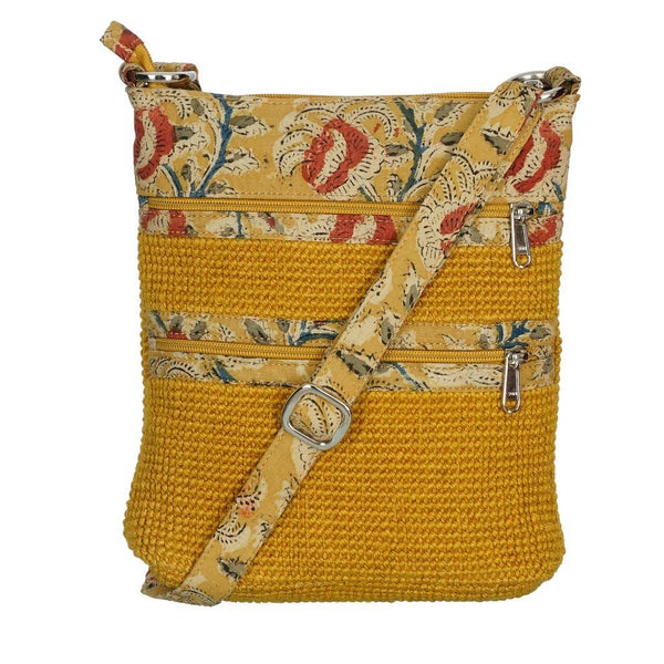 Project Bag - Yellow Jute Myly
