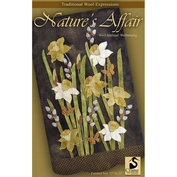 Nature's Affair Wool Applique Pattern