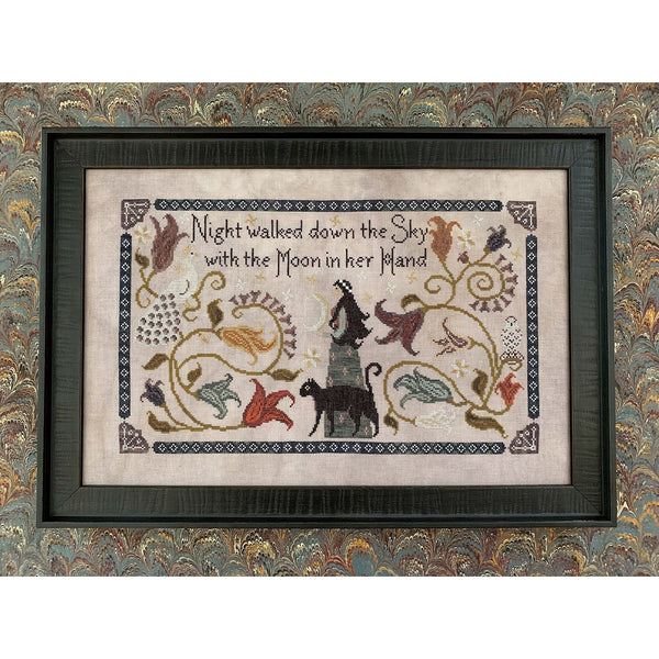 Night Walked Down Cross Stitch Pattern