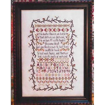 No Daintie Flower Cross Stitch Pattern