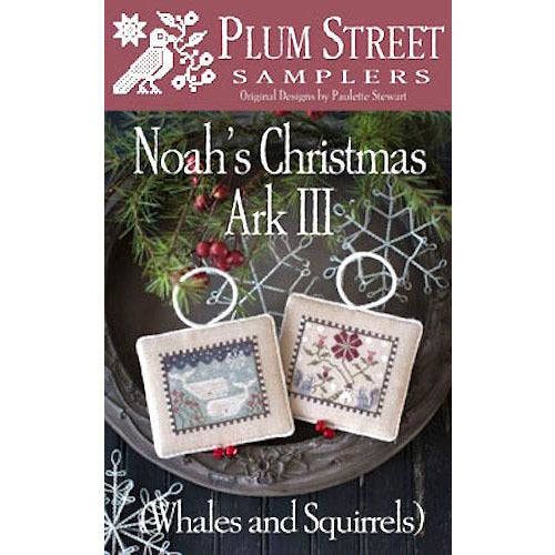 Noah's Christmas Ark III  - Whales and Squirrels Pattern