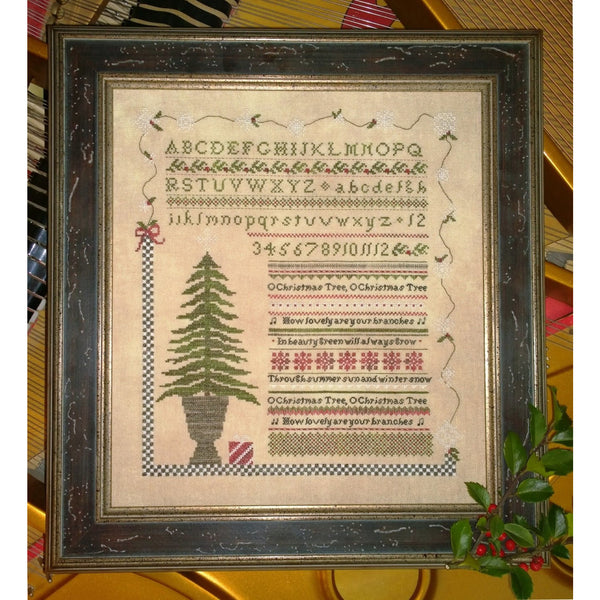 O Christmas Tree Sampler Pattern