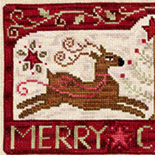 Oh Deer, It's Christmas Cross Stitch Pattern
