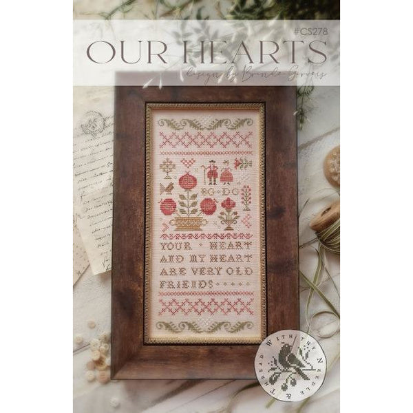 Our Hearts Sampler Pattern