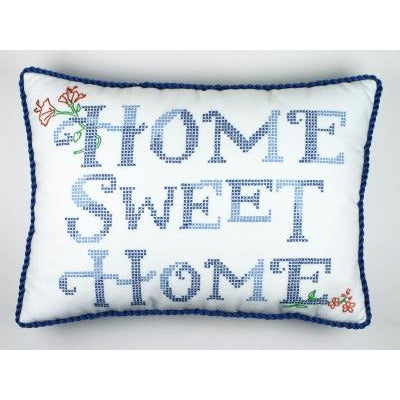 Home Sweet Home Sampler Stamped Cross Stitch Kit