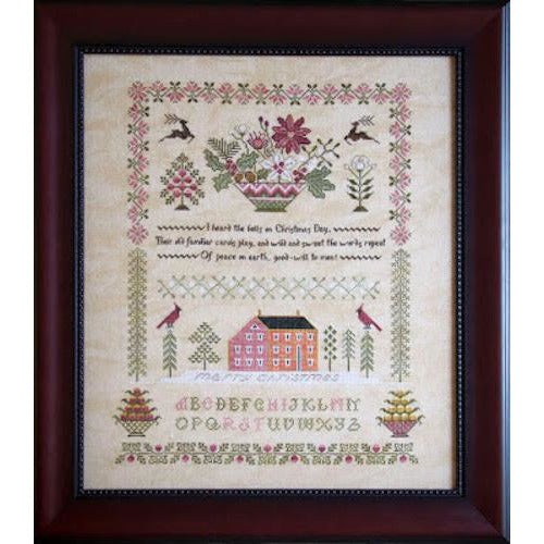 Peace on Earth Sampler Cross Stitch Pattern