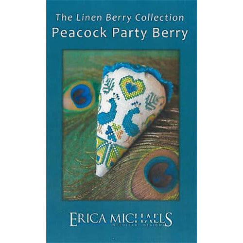 Peacock Party Berry Pattern