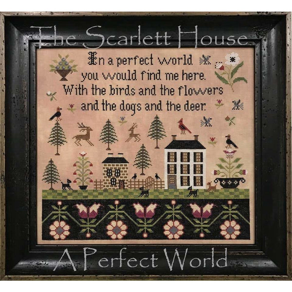 A Perfect World Cross Stitch Pattern