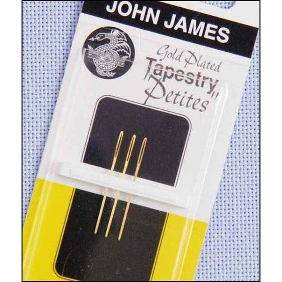 John James Size 26 Petite Gold Plated Tapestry Needles
