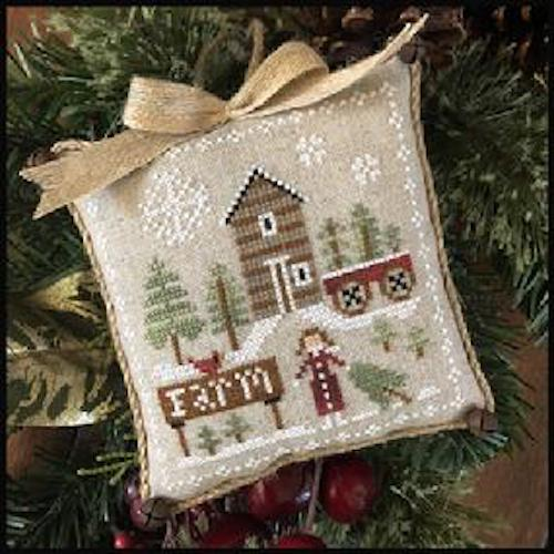Farmhouse Christmas Part 6 Pinewood Farm Pattern