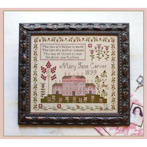 Pink House Sampler Pattern