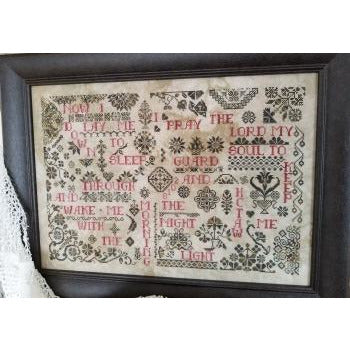 Quaker Evening Prayer Sampler Pattern