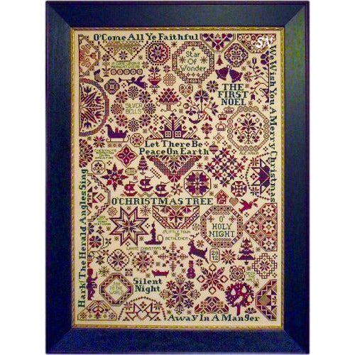 Quaker Christmas II Sampler Pattern