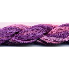 Fuchsia S-037 Dinky Dyes 6 Strand Spun Silk Embroidery Floss