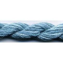 Aquamarine S-043 Dinky Dyes 6 Strand Spun Silk Embroidery Floss