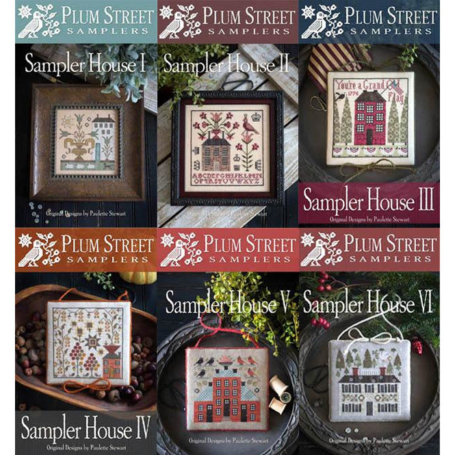 Sampler House Series Cross Stitch Pattern