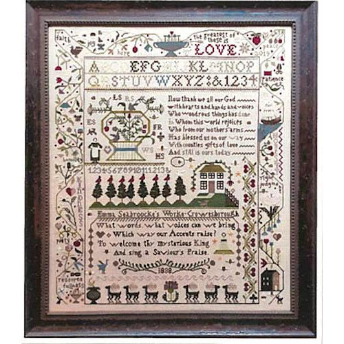 A Saviour's Praise Sampler Pattern
