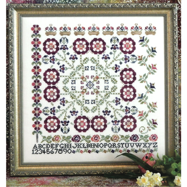 Tumbling Rose Sampler Pattern