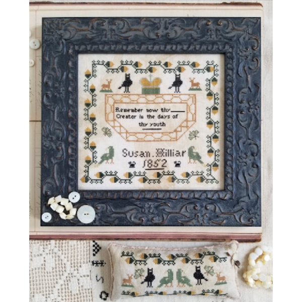 Susan Hilliar, 1852 Sampler Pattern