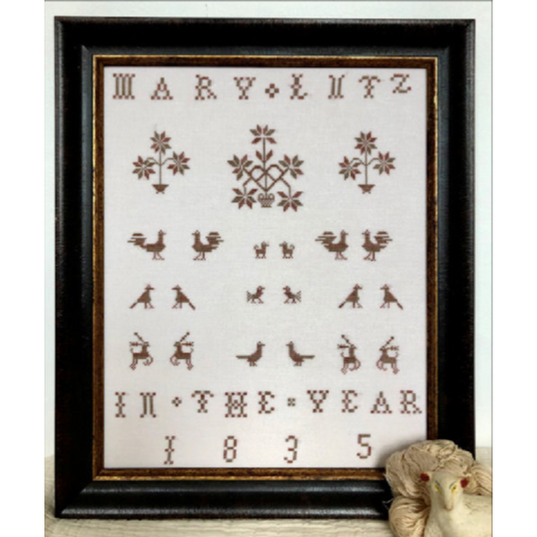 Mary Lutz, 1835 Sampler Pattern