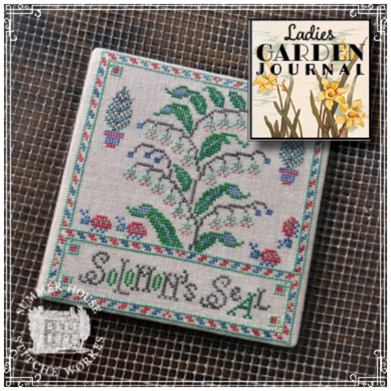 Ladies Garden Journal - Solomon's Seal Pattern Three