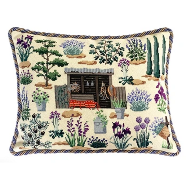 Chelsea Garden Sanctuary Needlepoint Tapestry Kit