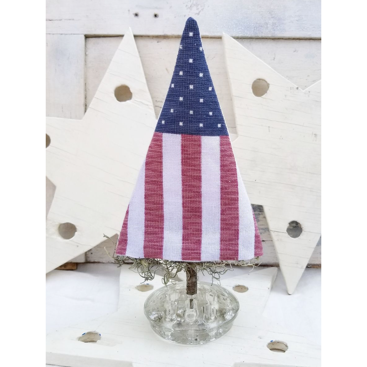 Stars and Stripes Tree Pattern