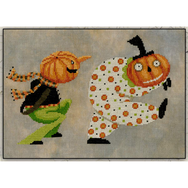 Groovy Gary & Frightened Fred Pattern
