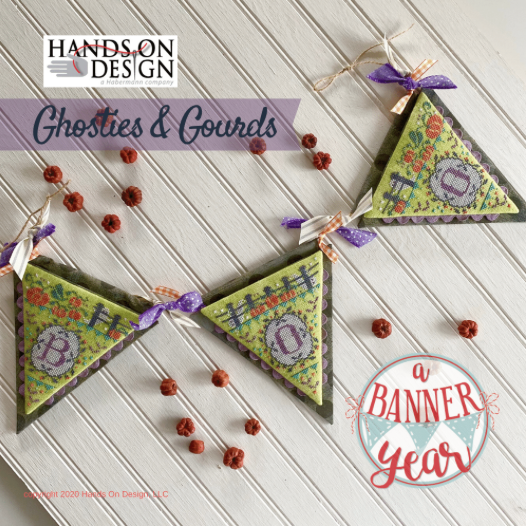 Ghosties & Gourds Pattern