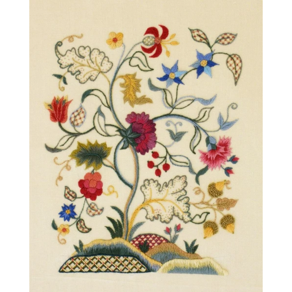 Jacobean Medley Crewel Embroidery Kit