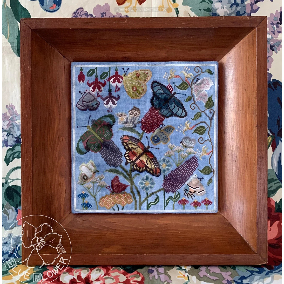 Butterly Garden Pattern