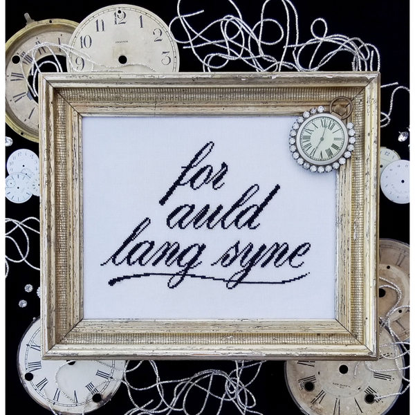 Auld Lang Syne Pattern - Available 1st Week of November