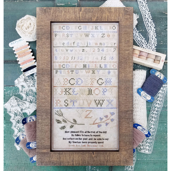 A Pleasant Sampler Reproduction Pattern - Available 1st Week of November