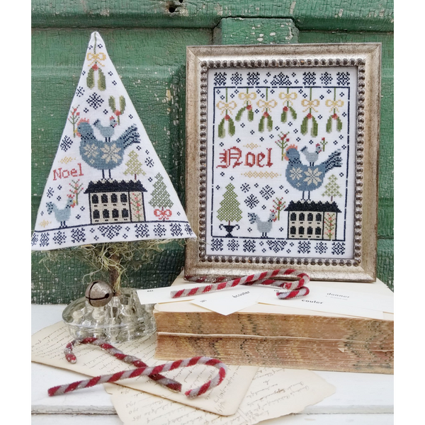 Third Day of Christmas Sampler & Tree Pattern - Available 1st Week of November