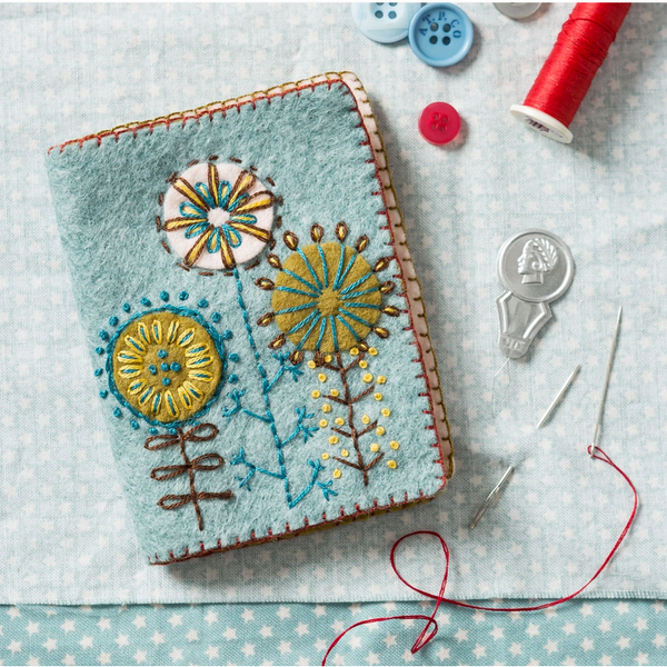 Needle Case Felt Embroidery Kit