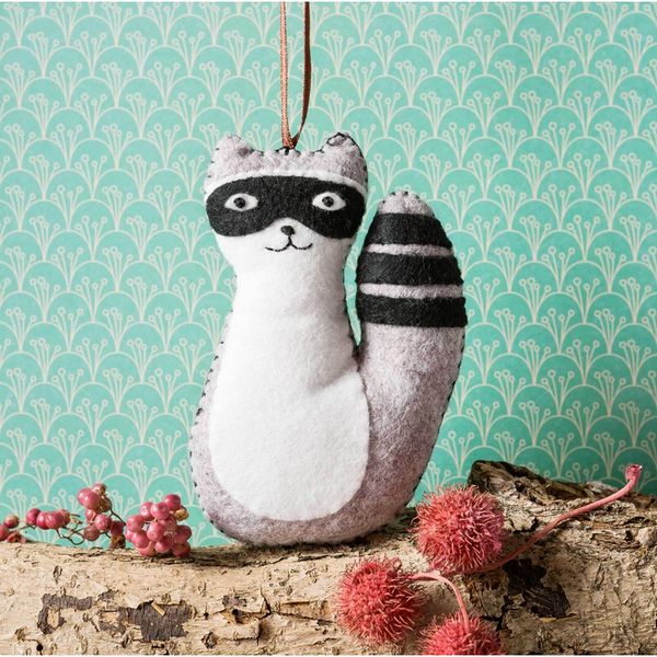 Mini Raccoon Felt Craft Kit