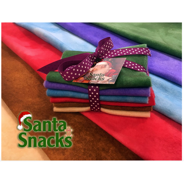 Shades of Inspiration - Santa Snacks Wool Fabric Bundle