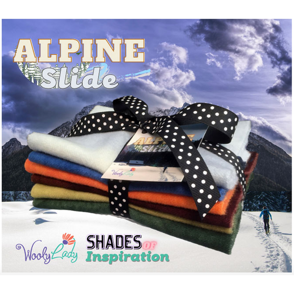 Shades of Inspiration - Alpine Slide Wool Fabric Bundle