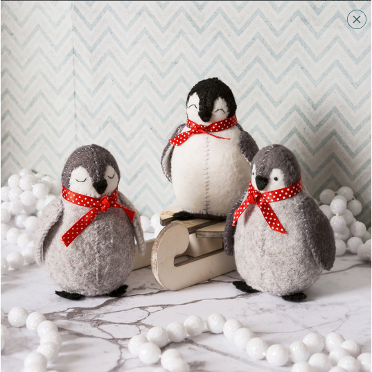 Felt Baby Penguins Craft Kit