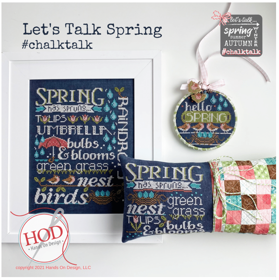 Hands On Design ~ Let's Talk Spring Pattern