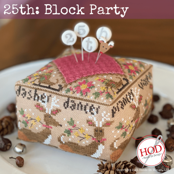 Hands On Design ~ 25th: Block Party Pattern
