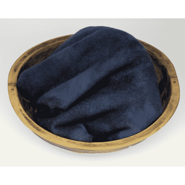 Blackberry Primitives ~ Indigo Hand-Dyed Wool Fabric