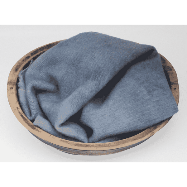Blackberry Primitives ~ Country Blue Hand-Dyed Wool Fabric