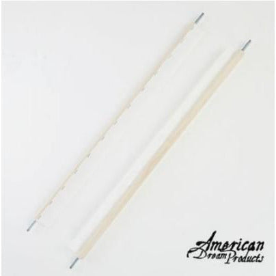 Scroll Rod Pair (Webbing) 16""