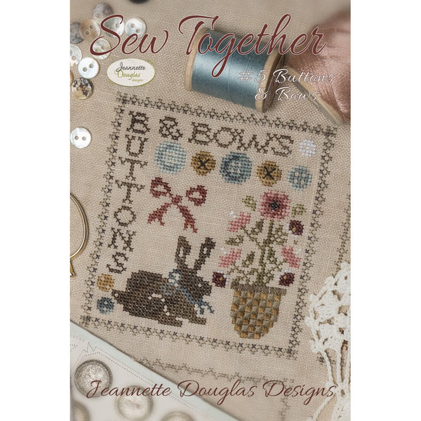 Sew Together #5 Buttons & Bows Pattern