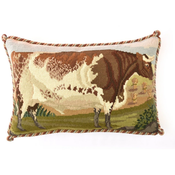 Shorthorn Ox Needlepoint Tapestry Kit